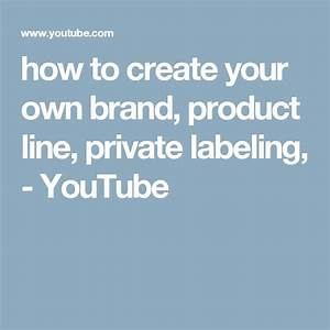 25 best ideas about private label cosmetics on pinterest With how to make your own labels for products