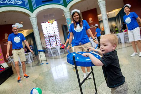 Children S Host by Carnival Cruise Lines Hosts Inaugural Day Of Play At St