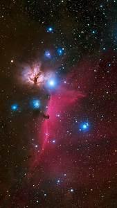 Wallpaper Horsehead Nebula  Galaxy  Stars  Universe  4k