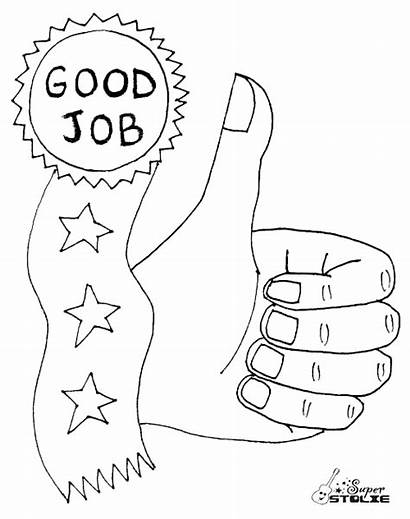 Coloring Job Finished Goodjob Ss