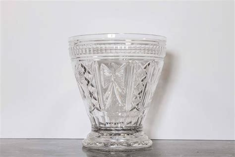 Pair Of Waterford Cut Crystal Vases, Signed