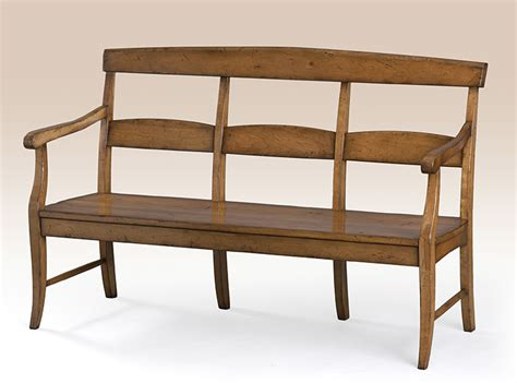 French Country Bench