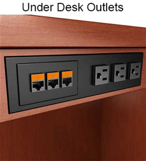 mount power strip under desk what 39 s the best style power data outlet for you closet