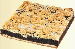 Schlesischer Mohnkuchen Platte 20x20cm, 1150g Kuchen