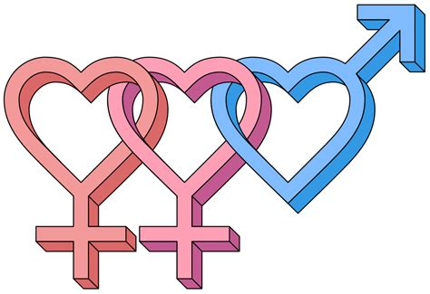 Female Bisexual Hearts 3d Symbol.svg