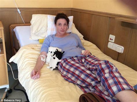 woman left unable  walk  speak   lyme disease