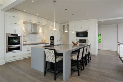 white kitchen cabinets grey floor grey hardwood floors how to combine gray color in modern 1802