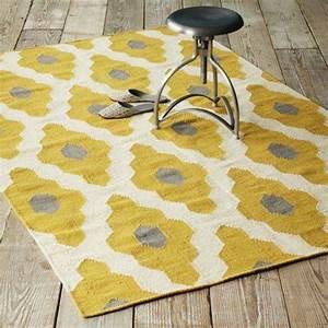 Teppich Gelb Grau : teppich gelb ~ Indierocktalk.com Haus und Dekorationen