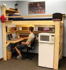 Loft Bed & Bunk Beds for Home & College Made In USA