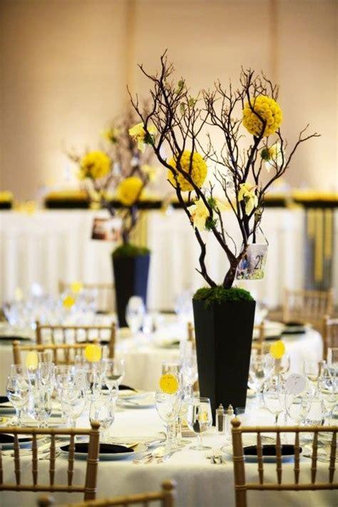 black  yellow wedding thatll   swoon