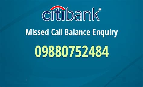citi credit card phone number citi bank balance enquiry missed call number citi bank