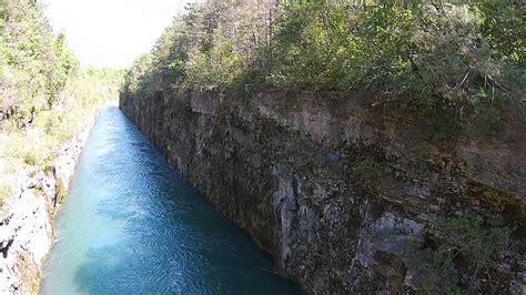 hydro canal niagara falls ontario dji phantom  vision youtube