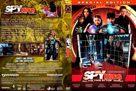 spy kids time world dvd custom covers spy