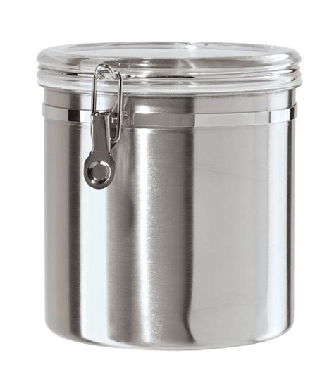 Stainless Steel Kitchen Canister by Oggi Jumbo Stainless Steel Kitchen Canister New Free