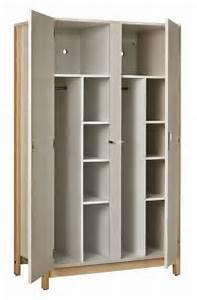 Porte De Penderie : dpc hebergement armoire 2 portes nyxos 1 2 penderie et 1 2 ling re par porte structure ~ Teatrodelosmanantiales.com Idées de Décoration
