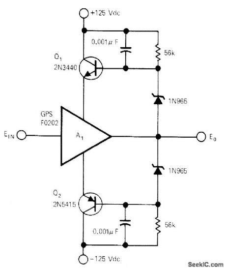 Circuit Diagram Of Unity Gain Amplifier