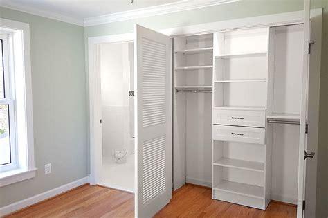 custom reach in closets small space organization