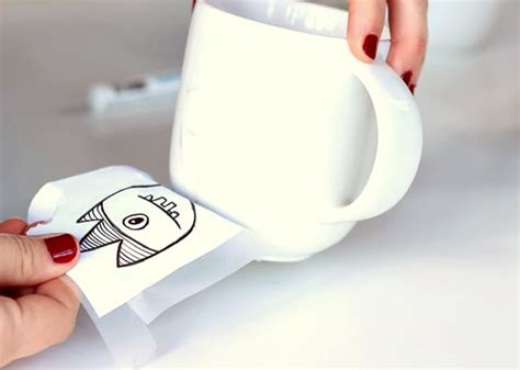 how to decorate a coffee mug using a porcelain marker - How To Decorate A Coffee Mug