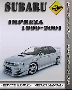 1999-2001 Subaru Impreza Factory Service Repair Manual 2000