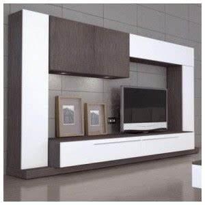 Meuble Tv Original : 20luxe meuble tv bois mural ~ Teatrodelosmanantiales.com Idées de Décoration