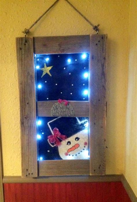simple  beautiful reclaimed wood christmas