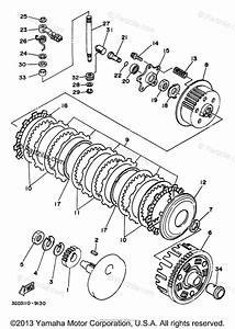 Yamaha Atv 1998 Oem Parts Diagram For Clutch
