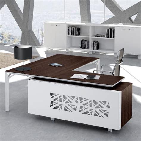 modele bureau bureau avec retour 180cm 240cm en aluminium eight