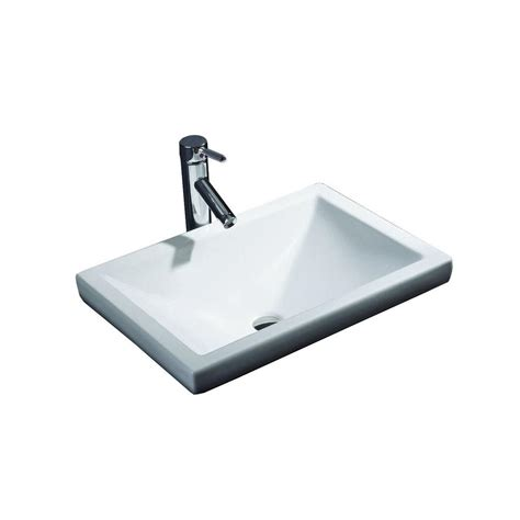 semi recessed bathroom sink semi recessed rectangular bathroom sink best bathroom
