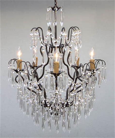 wrought iron chandeliers lighting