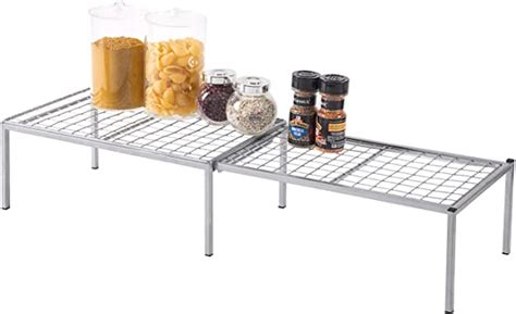 amazoncom expandable metal wire frame kitchen counter