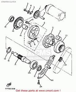 Yamaha Xj750r Seca 1983  D  Usa Starter Clutch