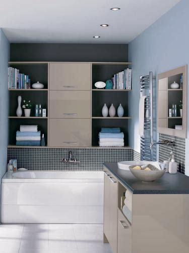 Universal Set Of Bathroom Furniture by Greenwich Gloss Howdens