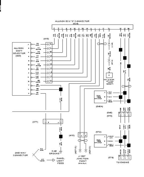 Ih 595 Wiring Schematic by I A 2000 International 4700 Toter With A Allison 6