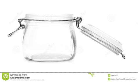 pot en verre vide photos stock image 34470823