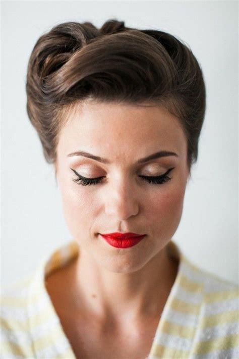 Retro 50s Hairstyles by 1001 Ideas For Rockabilly Hair Inspired From The 50 S