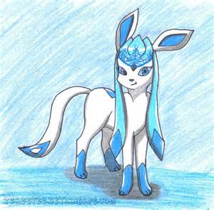 Cute Pokemon Shiny Glaceon