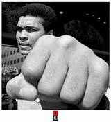 Muhammad ali and fist