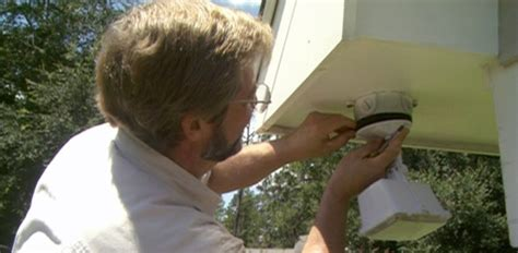 how to install an outdoor security light today s homeowner