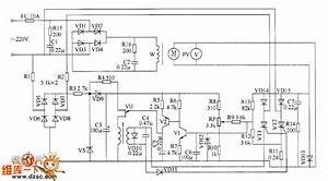 Motor Electronic Speed Controller Circuit Diagram 1