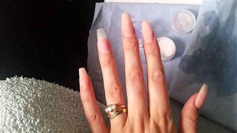 Diy Coffin Shaped Nails (no Acrylic)