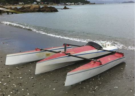 Small Boat Nz by Small Trimaran In Wellington New Zealand Small Trimarans
