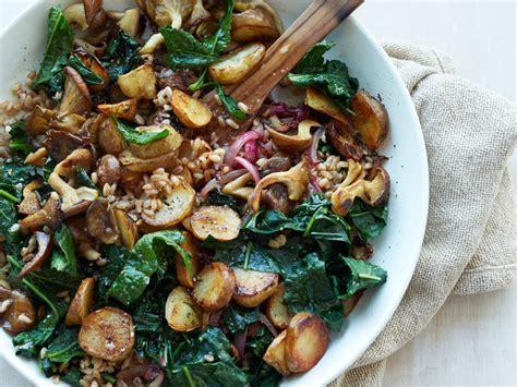 sunchoke kale hash with farro recipe jon shook vinny