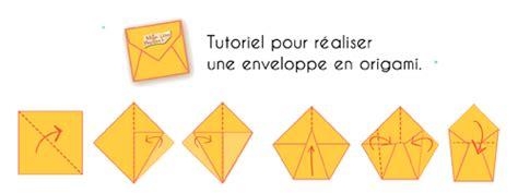 Enveloppe En Origami Comment R 233 Aliser Enveloppe Mille Et Une Feuilles