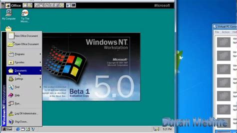 Windows Nt 50 Workstation Beta 1 Build 1729 In Microsoft
