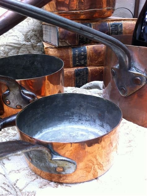 todays treasure  jen vintage french copper cookware
