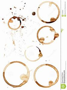 Coffee Stain Rings Vector Stock Vector - Image: 57202023