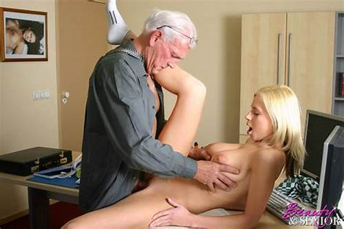 Sharing A Youthful In The Office #Busty #Blonde #Teen #Has #Office #Sex #With #Very #Old #Businessman
