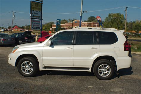 2004 Lexus Gx470 White Used Suv Sale