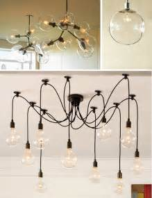 trend bare bulb lighting