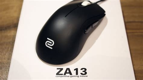 Zowie Za13 Gaming Mouse Unboxing And Review Youtube